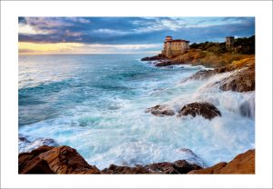 Tuscany coastline print for sale