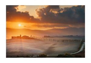 orcia valley fine art print